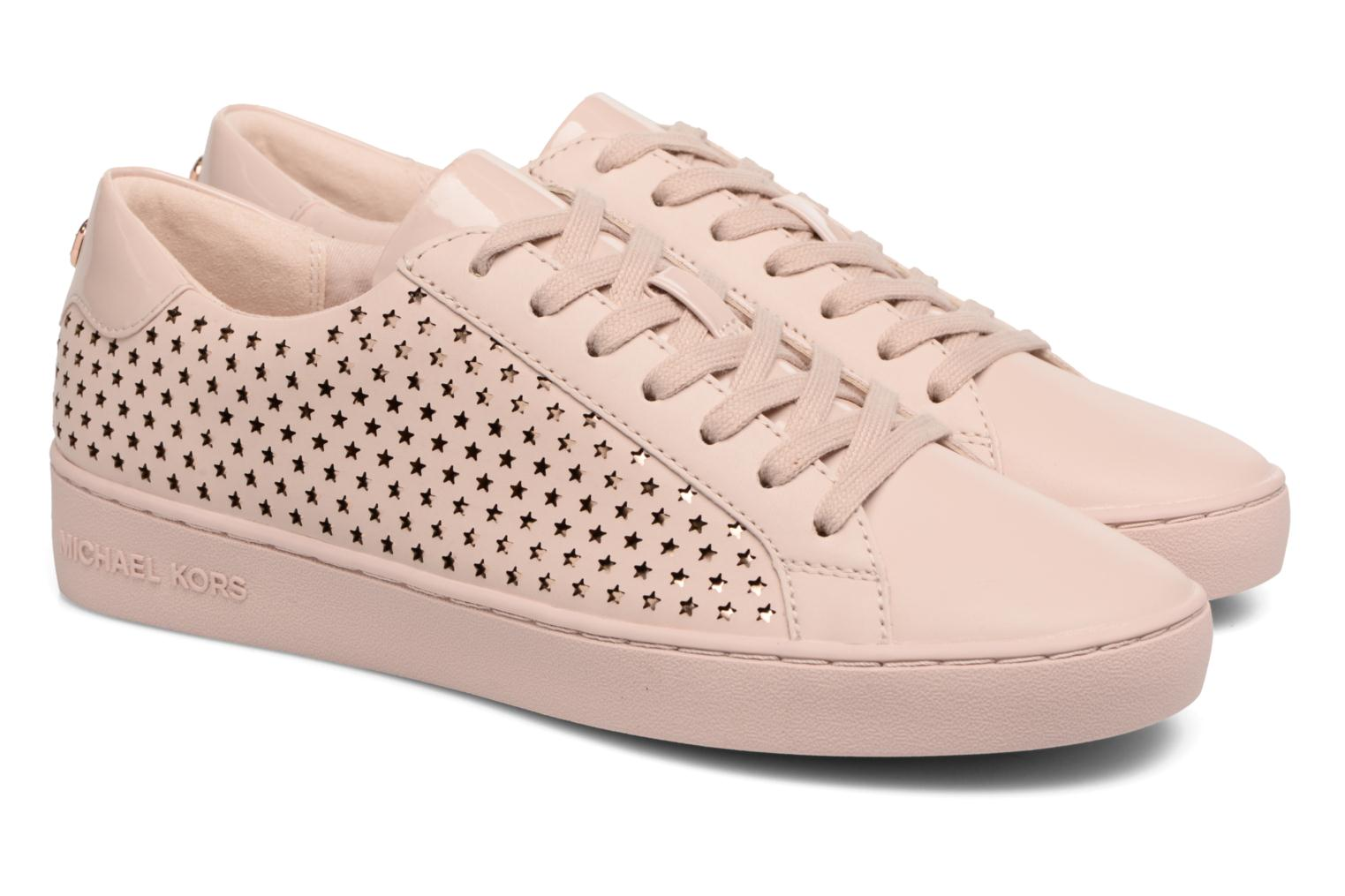 Sneakers Michael Michael Kors Irving Lace Up Rosa immagine 3/4