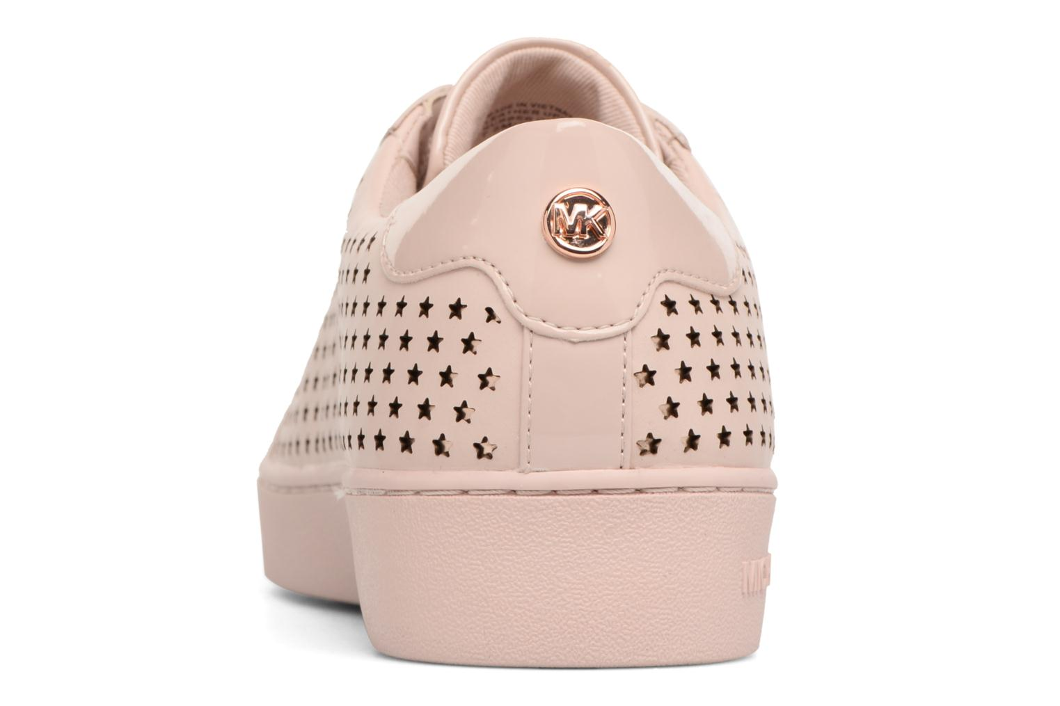 Sneakers Michael Michael Kors Irving Lace Up Rosa immagine destra