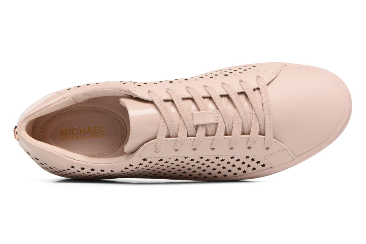 Sneakers Michael Michael Kors Irving Lace Up Rosa immagine sinistra