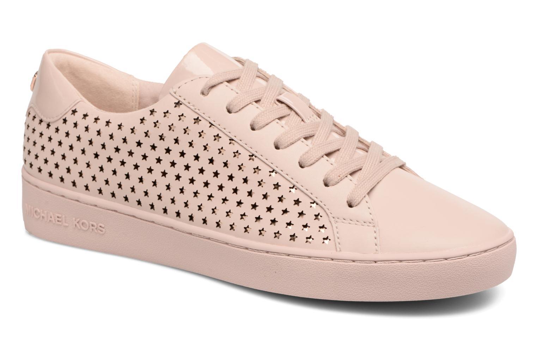 Sneakers Michael Michael Kors Irving Lace Up Rosa vedi dettaglio/paio