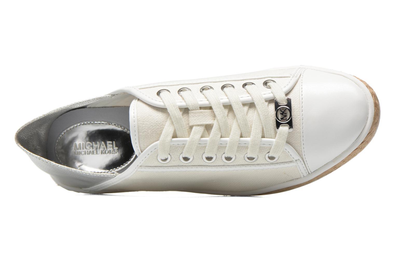 Sneakers Michael Michael Kors Kristy slide Argento immagine sinistra