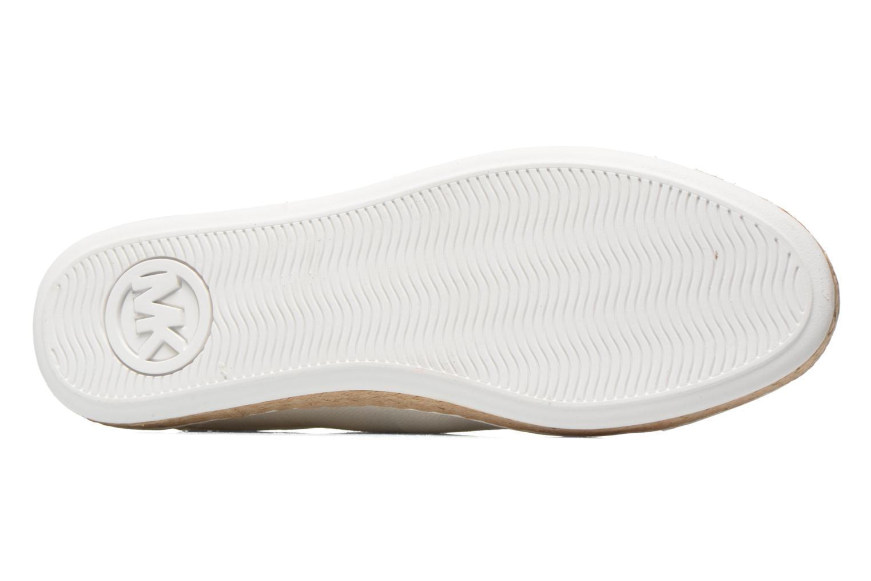 Sneakers Michael Michael Kors Kristy slide Argento immagine dall'alto