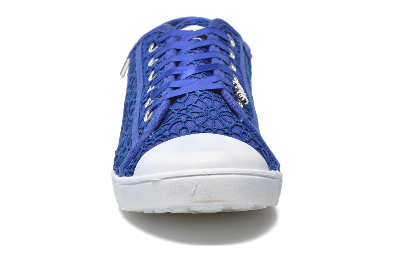 Baskets Molly Bracken Derby signature Bleu vue portées chaussures