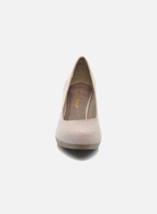 Zapatos de tacón Marco Tozzi Lolly Beige vista del modelo