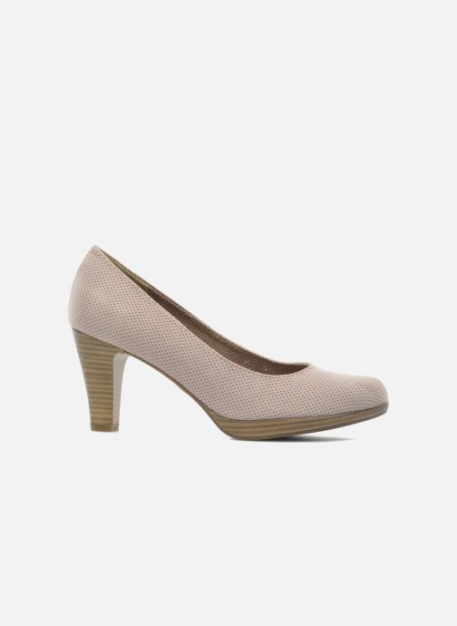 High heels Marco Tozzi Lolly Beige back view