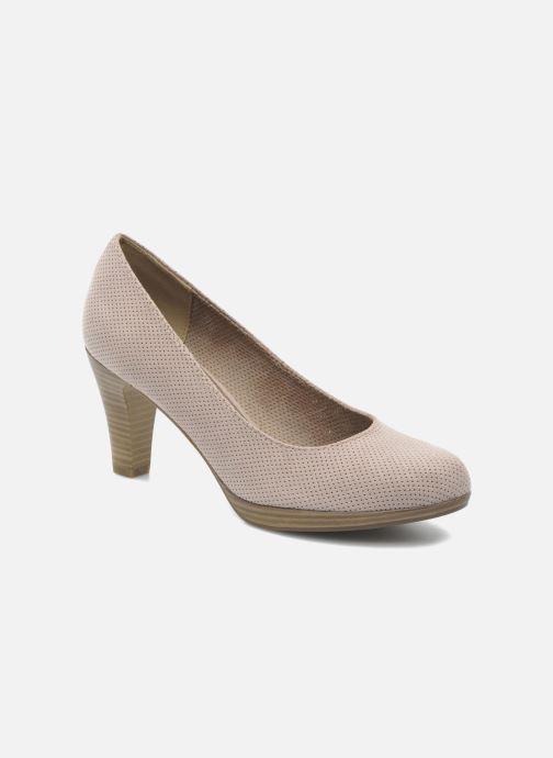 Zapatos de tacón Marco Tozzi Lolly Beige vista de detalle / par
