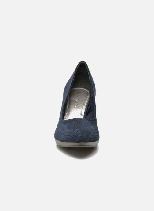 Zapatos de tacón Marco Tozzi Lolly Azul vista del modelo