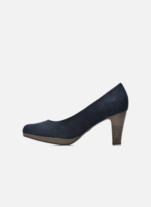 Zapatos de tacón Marco Tozzi Lolly Azul vista de frente
