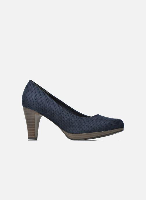 Zapatos de tacón Marco Tozzi Lolly Azul vistra trasera
