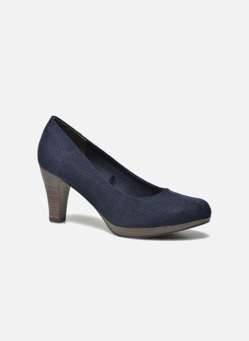 Zapatos de tacón Marco Tozzi Lolly Azul vista de detalle / par