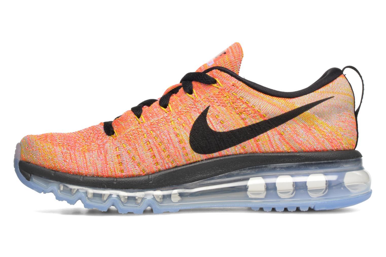 Sportssko Nike Wmns Nike Flyknit Max Orange se forfra