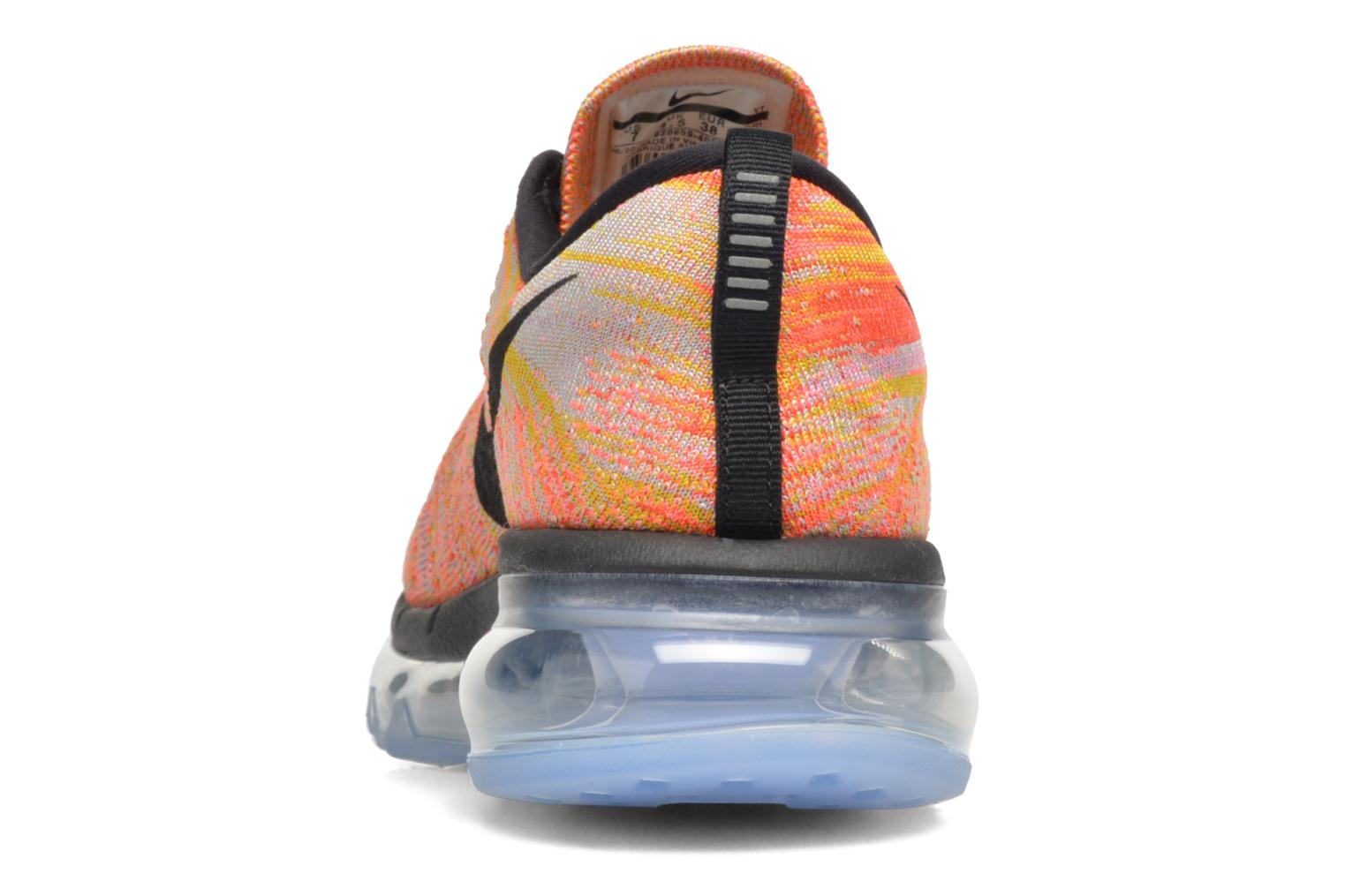 Sport shoes Nike Wmns Nike Flyknit Max Orange view from the right