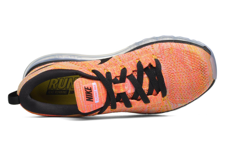 Sportssko Nike Wmns Nike Flyknit Max Orange se fra venstre