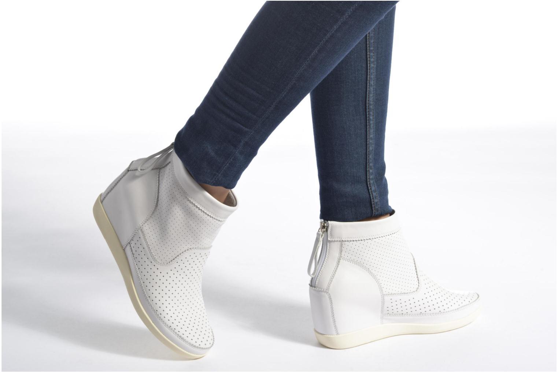 Bottines et boots Shoe the bear Emmy Noir vue bas / vue portée sac