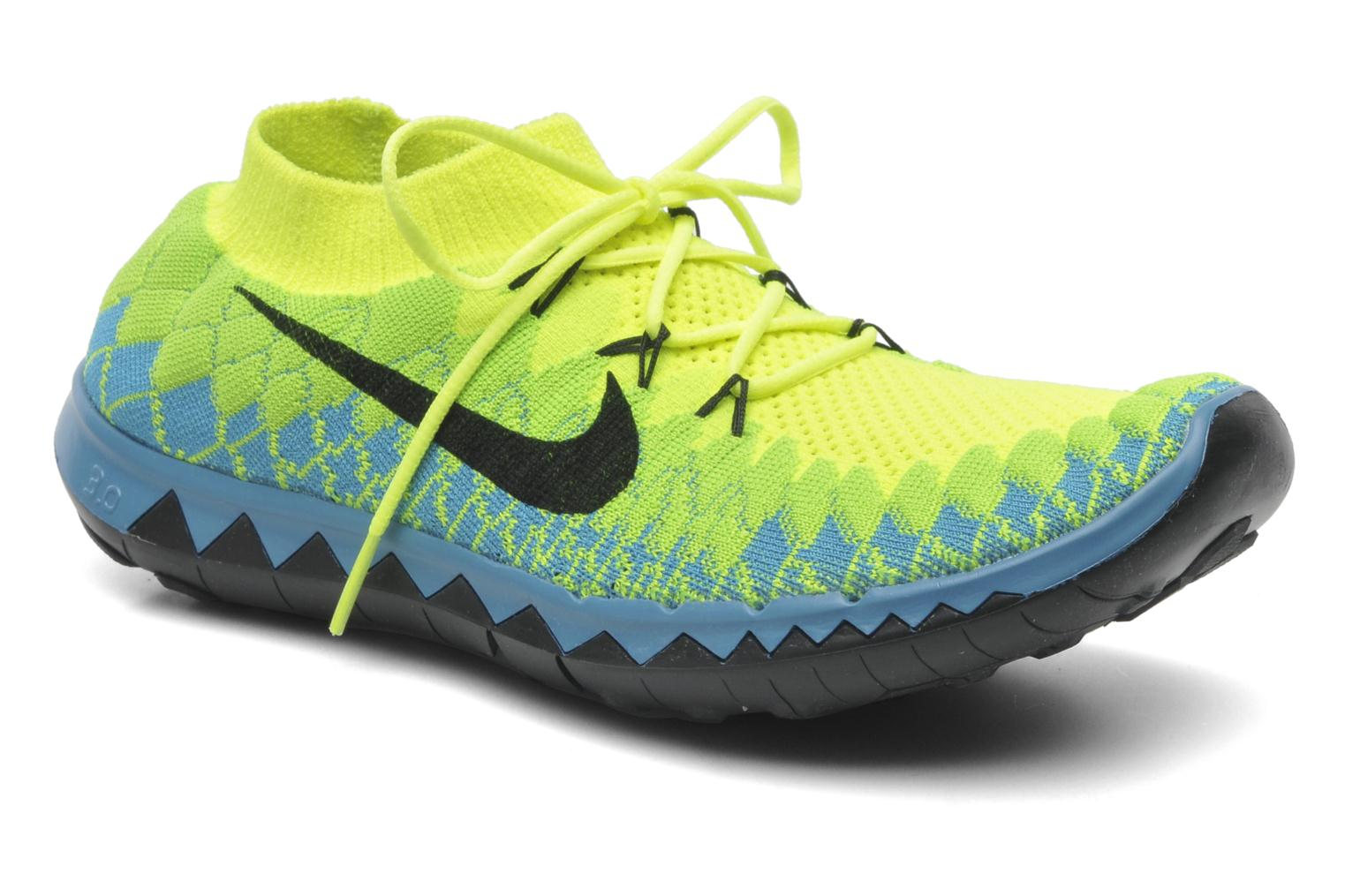 reputable site 74d09 6174f ... Sport shoes Nike Nike Free 3.0 Flyknit Yellow detailed view Pair view  ...