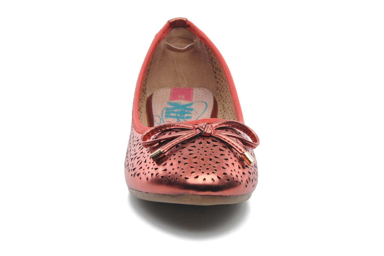 Ballerines Xti Prima Rose vue portées chaussures