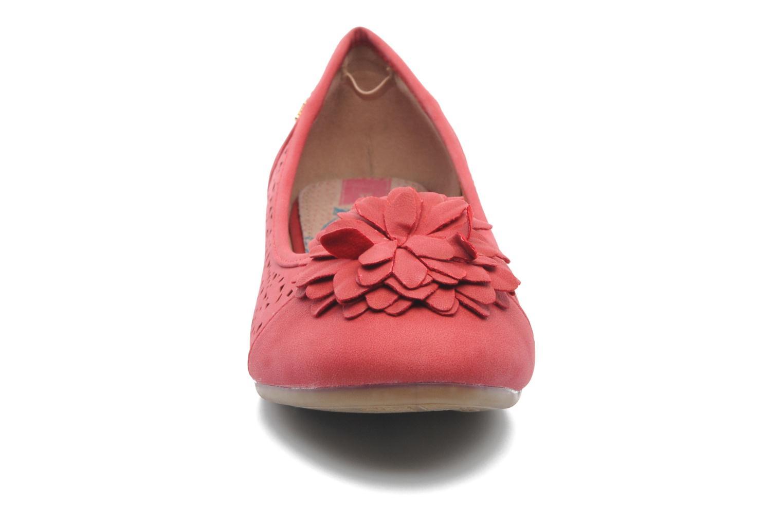 Ballerines Xti Vita Rouge vue portées chaussures