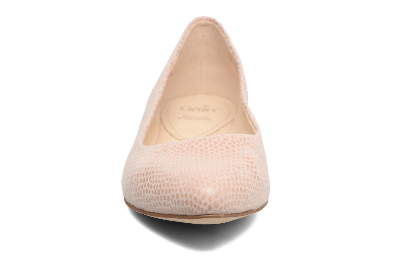 Ballerines Caprice Vinyle Rose vue portées chaussures