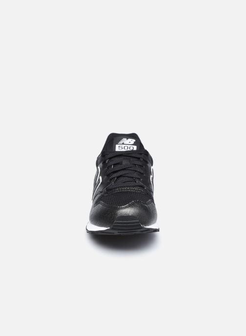 Baskets New Balance GW500 Noir vue portées chaussures
