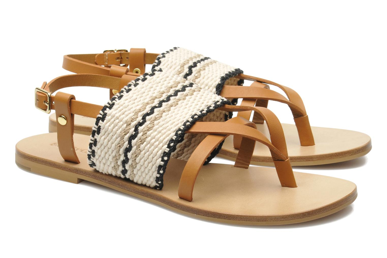 Sandales et nu-pieds See by Chloé Kenna II Multicolore vue 3/4