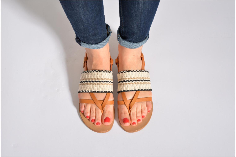 Sandales et nu-pieds See by Chloé Kenna II Multicolore vue bas / vue portée sac