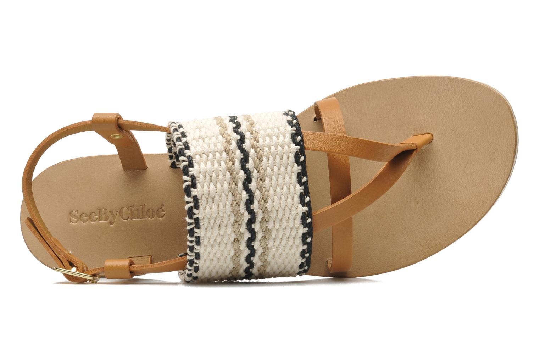 Sandales et nu-pieds See by Chloé Kenna II Multicolore vue gauche