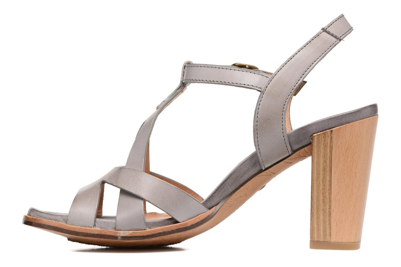 Sandales et nu-pieds Neosens Gloria 193 Gris vue face