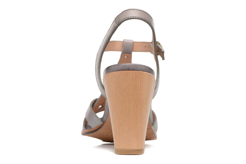 Sandales et nu-pieds Neosens Gloria 193 Gris vue droite