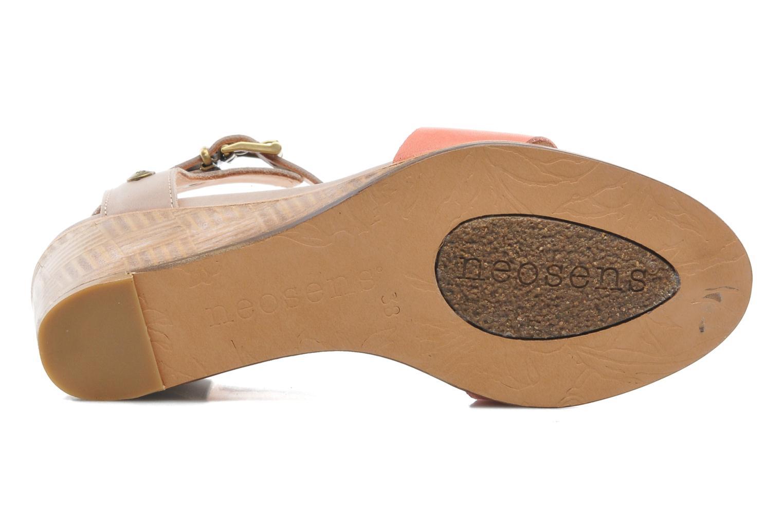Sandales et nu-pieds Neosens Noah 237 Orange vue haut