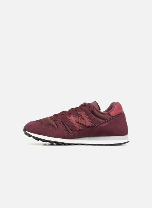 Baskets New Balance WL373 Bordeaux vue face