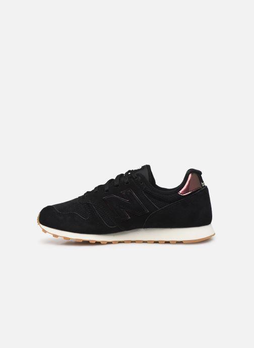 Sneakers New Balance WL373 Zwart voorkant