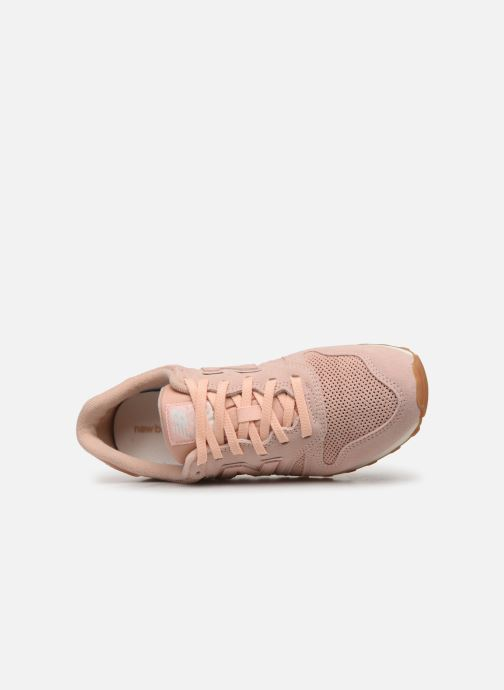Baskets New Balance WL373 Rose vue gauche