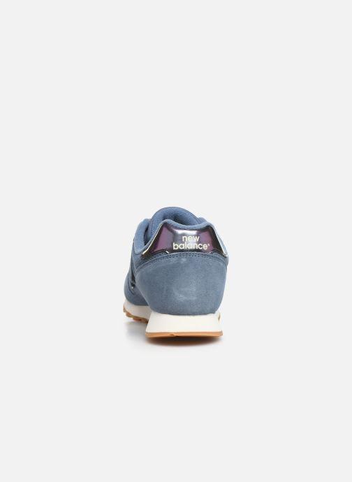 Sneakers New Balance WL373 Blå Se fra højre