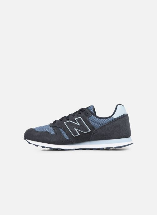 Baskets New Balance WL373 Bleu vue face