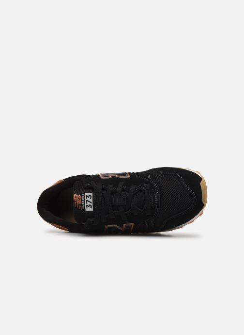 Baskets New Balance WL373 Noir vue gauche
