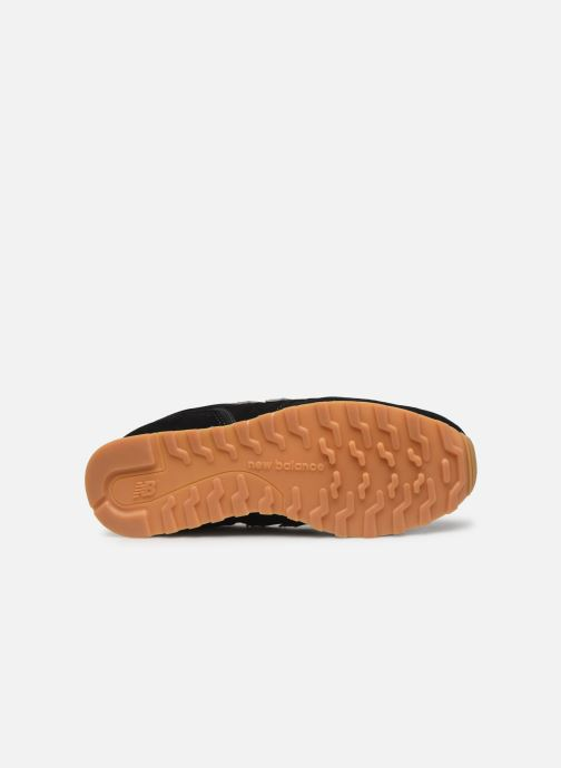 Baskets New Balance WL373 Noir vue haut