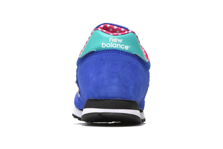 Baskets New Balance WL373 Bleu vue droite
