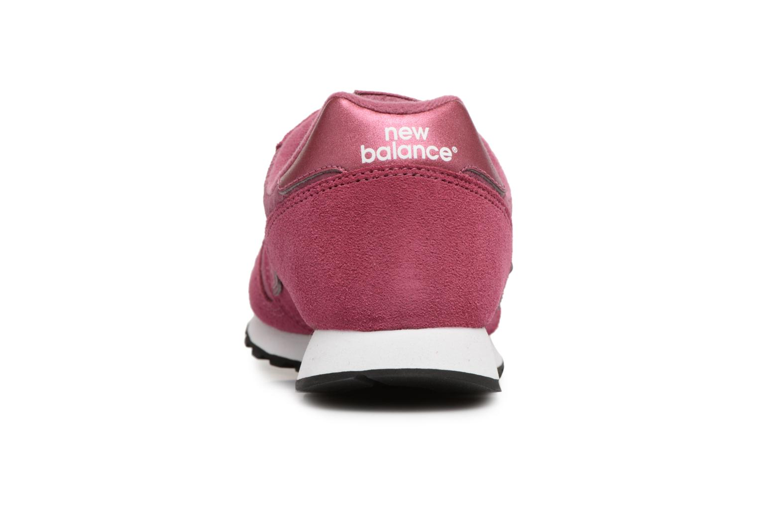 Trainers New Balance WL373 Pink view from the right