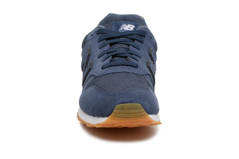 Baskets New Balance WL373 Bleu vue portées chaussures