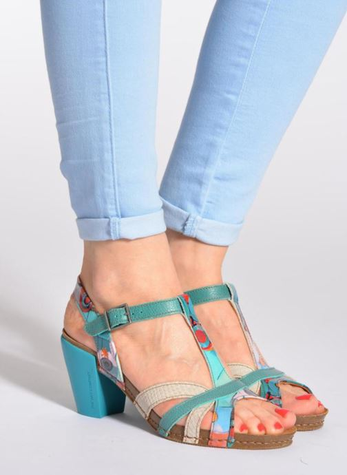 Sandalen Art I Feel 239 mehrfarbig ansicht von unten / tasche getragen