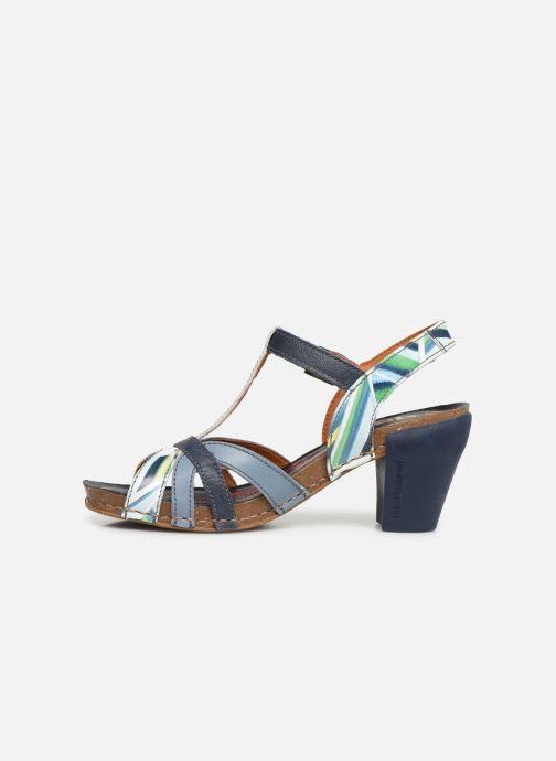 Sandales et nu-pieds Art I Feel 239 Bleu vue face