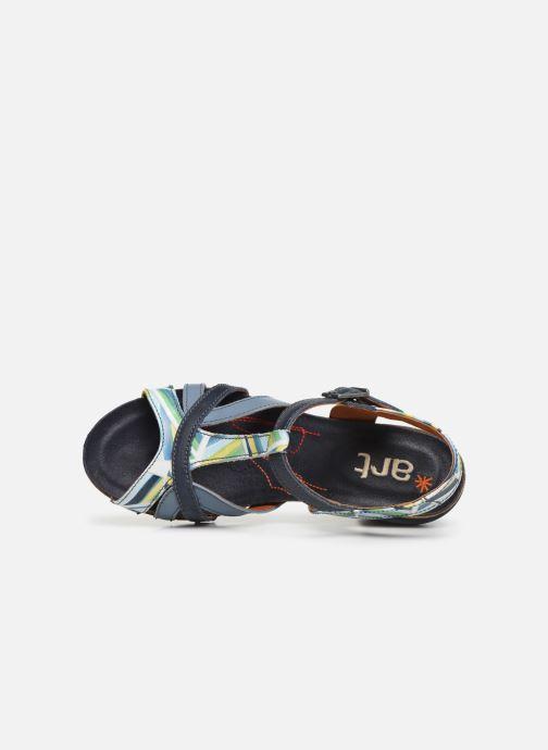 Sandales et nu-pieds Art I Feel 239 Bleu vue gauche