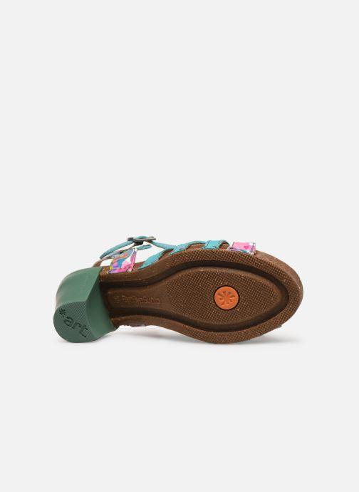 Sandales et nu-pieds Art I Feel 239 Bleu vue haut