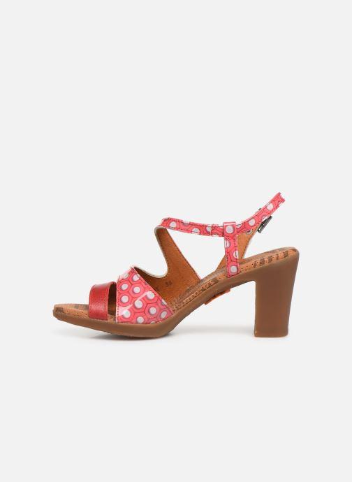 Sandales et nu-pieds Art Rio 293 Rose vue face