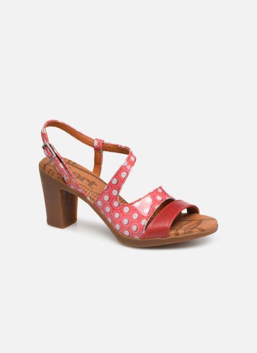 Sandales et nu-pieds Art Rio 293 Rose vue détail/paire