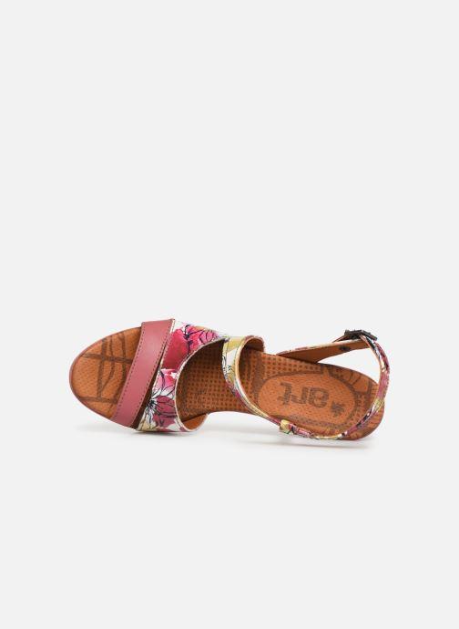 Sandales et nu-pieds Art Rio 293 Rose vue gauche
