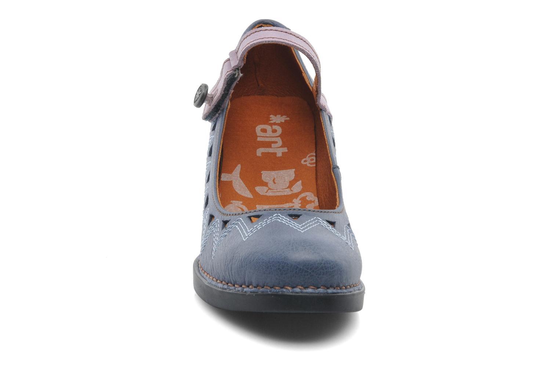 Escarpins Art Harlem 943 Bleu vue portées chaussures