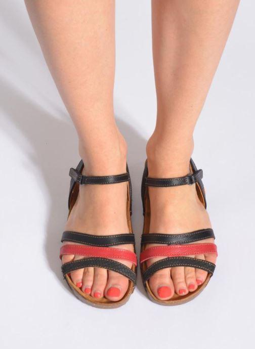 Sandales et nu-pieds Art I Breathe 998 Violet vue bas / vue portée sac