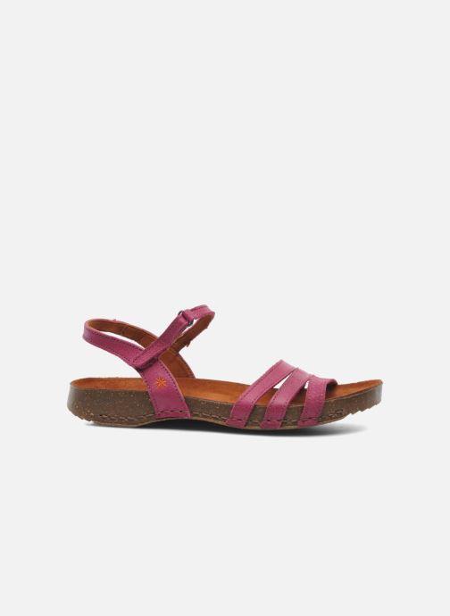 Sandals Art I Breathe 998 Purple back view
