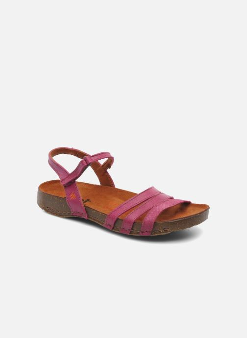 Sandals Art I Breathe 998 Purple detailed view/ Pair view